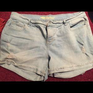 Women's jean shorts size 12